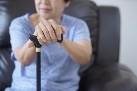 Encouraging Seniors to Use Cane