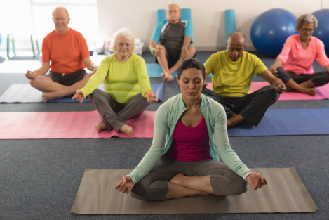 Seated Yoga Poses That Seniors Can Try